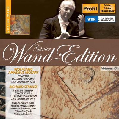 ホルン協奏曲第1番、4つの最後の歌、他 バウマン(hr)アーロヨ(S)ヴァント&ケルン放送響、他