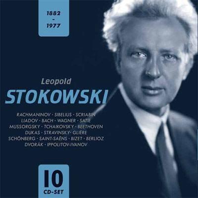 レオポルド・ストコフスキー(10CD)