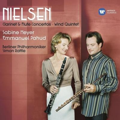 フルート協奏曲、クラリネット協奏曲、管楽五重奏曲 パユ、S.マイヤー、ラトル&ベルリン・フィル、バボラーク、他