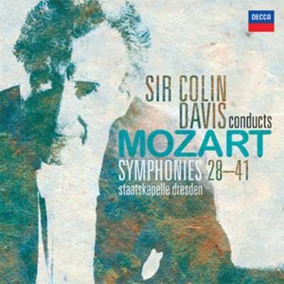 後期交響曲集 コリン・デイヴィス&シュターツカペレ・ドレスデン(5CD)