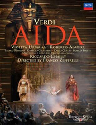 歌劇『アイーダ』全曲 ゼッフィレッリ演出、シャイー&スカラ座、ウルマーナ、アラーニャ
