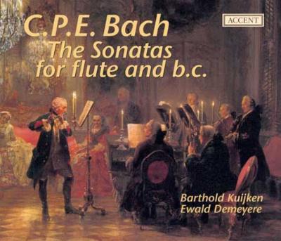フルートと通奏低音のためのソナタ集 バルトルド・クイケン(フラウト・トラヴェルソ)デマイヤー(フォルテピアノ)