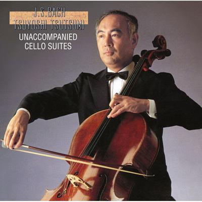 6 Cello Suites: 堤剛 (1990, 1991)
