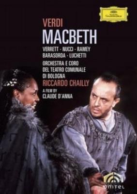 歌劇『マクベス』全曲 ダンナ監督、シャイー&ボローニャ・テアトロ・コムナーレ管、ヌッチ、ヴァーレット(2DVD)