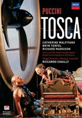 『トスカ』全曲 レーンホフ演出、シャイー&コンセルトヘボウ管、マルフィターノ (1998 ステレオ 日本語字幕付)(DVD)