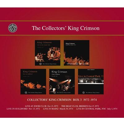 Collectors King Crimson Box 3 -1972-1974