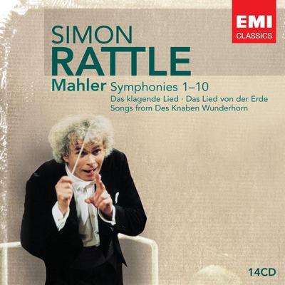 交響曲全集 ラトル&バーミンガム市交響楽団、ベルリン・フィル、ウィーン・フィル、他(14CD)