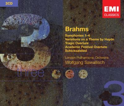 交響曲全集、他 サヴァリッシュ&ロンドン・フィル(3CD)