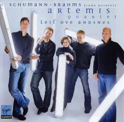 ブラームス:ピアノ五重奏曲、シューマン:ピアノ五重奏曲 アンスネス、アルテミス四重奏団