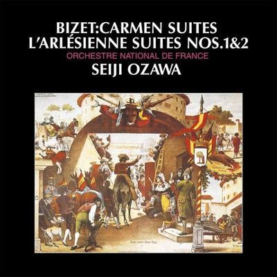 『アルルの女』組曲、『カルメン』組曲 小澤征爾&フランス国立管弦楽団