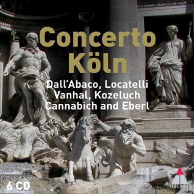 Concerto Koln: Dall'abaco, Locatelli, Vanhal, Kozeluch, Eberl, Etc