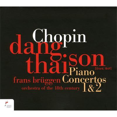 ピアノ協奏曲第1番、第2番 ダン・タイ・ソン(フォルテピアノ)ブリュッヘン&18世紀オーケストラ