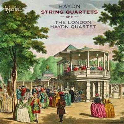 弦楽四重奏曲作品9(第19〜24番) ロンドン・ハイドン四重奏団(2CD)