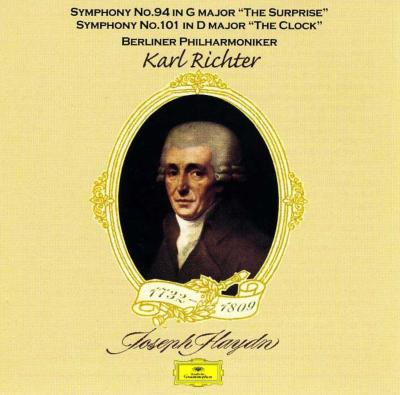 交響曲第94番、第101番 リヒター&ベルリン・フィル