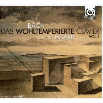 平均律クラヴィーア曲集第1巻 エガー(チェンバロ)(2CD)