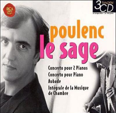 室内楽全集、ピアノ協奏曲、ほか ル・サージュ、パユ、メイエ、ほか(3CD)