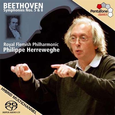 交響曲第5番、第8番 ヘレヴェッヘ&ロイヤル・フランダース・フィル