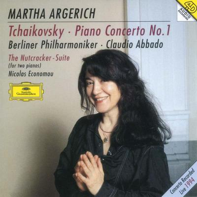 ピアノ協奏曲第1番、他 アルゲリッチ(p)アバド&ベルリン・フィル