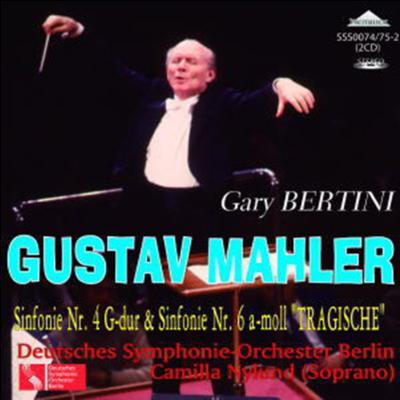 Symphonies Nos.4, 6: Bertini / Berlin Deutsches SO, Nylund(S)