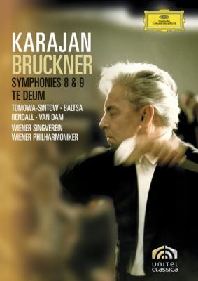 交響曲第8番、第9番、テ・デウム カラヤン&ウィーン・フィル(2DVD)