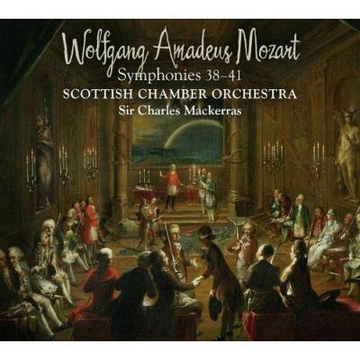 交響曲第38番〜第41番 マッケラス&スコットランド室内管弦楽団(2SACD)