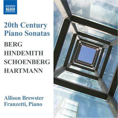 20th Century Piano Sonatas-berg, Hindemith, Schoenberg, Hartmann: Franzetti