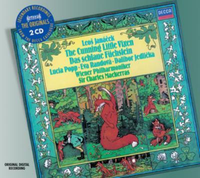 歌劇『利口な女狐の物語』全曲、『利口な女狐の物語』管弦楽組曲 マッケラス&ウィーン・フィル(2CD)