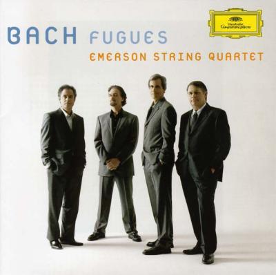 平均律クラヴィーア曲集から4声のフーガ集 エマーソン弦楽四重奏団