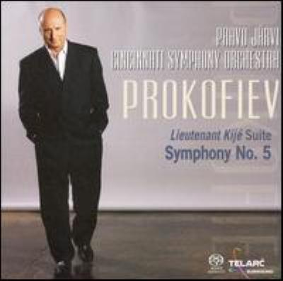 交響曲第5番、キージェ中尉 パーヴォ・ヤルヴィ&シンシナティ交響楽団(SACD)