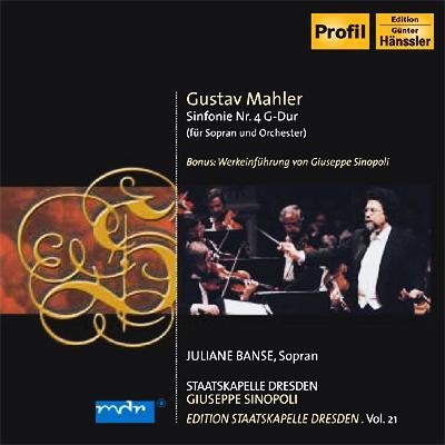交響曲第4番 シノーポリ&シュターツカペレ・ドレスデン、バンゼ