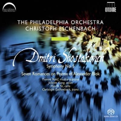 交響曲第5番、他 エッシェンバッハ&フィラデルフィア管