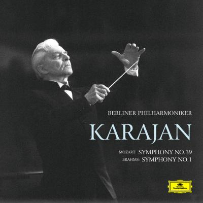 ブラームス:交響曲第1番、モーツァルト:交響曲第39番 カラヤン&ベルリン・フィル(1988年東京ライヴ)