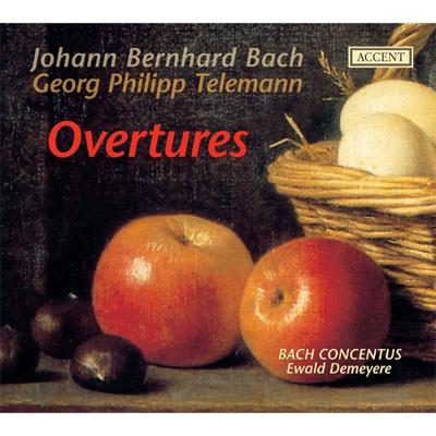 J.B.バッハ:管弦楽組曲集、テレマン:組曲集 デメイエル&バッハ・コンツェントゥス(2CD)