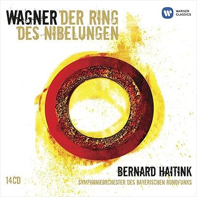 『ニーベルングの指環』全曲 ハイティンク&バイエルン放送交響楽団、モリス、マルトン、イェルザレム(14CD)