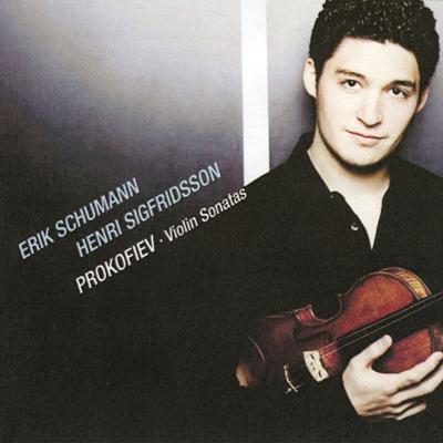 ヴァイオリン・ソナタ第1番、第2番、他 エリック・シューマン、ジークフリートソン
