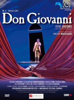 『ドン・ジョヴァンニ』全曲 ブサール演出、ヤーコプス&フライブルク・バロック・オーケストラ、ヴァイサー、ペンダチャンスカ、他(2006 ステレオ)(2DVD)
