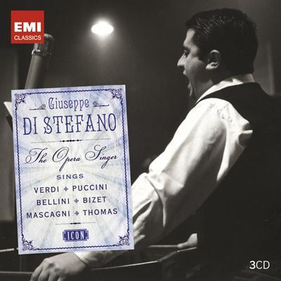 ジュゼッペ・ディ・ステーファノ/EMIレコーディングス(3CD)