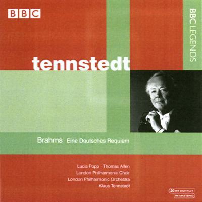ドイツ・レクィエム テンシュテット&ロンドン・フィル、ポップ、アレン(1984年ステレオ)