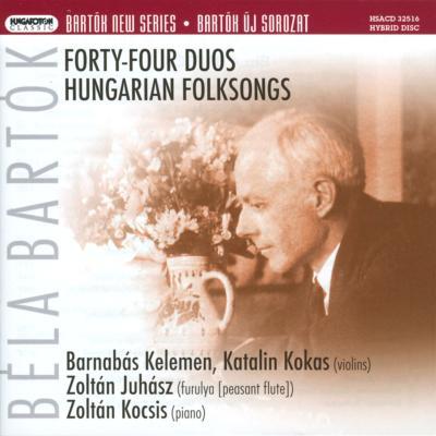 44の二重奏曲、ハンガリー民謡集...
