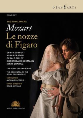 『フィガロの結婚』全曲 マクヴィカー演出、パッパーノ&コヴェント・ガーデン王立歌劇場、シュロット、レッシュマン、他(2006 ステレオ)(2DVD)