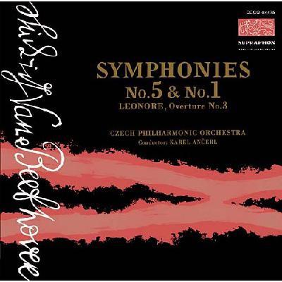 交響曲第5番『運命』、第1番、『レオノーレ』序曲第3番 アンチェル&チェコ・フィル