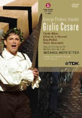 『ジュリオ・チェーザレ』全曲 ヴェルニケ演出、ホフステッター&リセウ大劇場、オリヴァー、メルセド、他(2004 ステレオ)(2DVD)