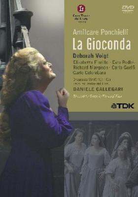 『ジョコンダ』全曲 ピッツィ演出、カッレガーリ&リセウ大劇場、ヴォイト、コロンバーラ、他(2005 ステレオ)(2DVD)