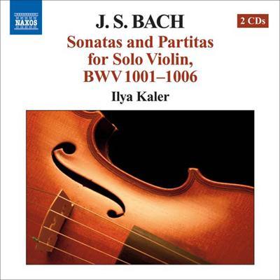 無伴奏ヴァイオリンのためのソナタとパルティータ全曲 カーラー(vn)