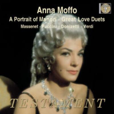 『マノンの肖像』、『愛の二重唱』 モッフォ、ディ・ステーファノ、ラボー、カーンズ、タッカー、レイボヴィッツ&RCAイタリア・オペラ管、他(2CD)