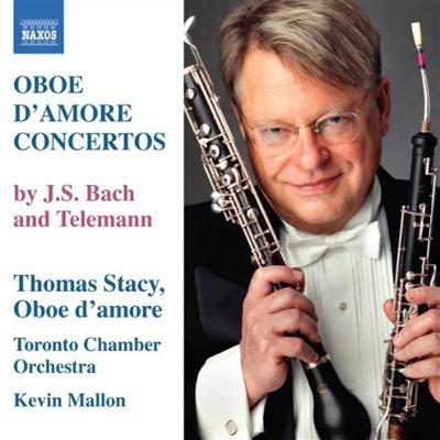 Bach Oboe d'amore Concertos, Telemann : Stacy, Mallon / Toronto Chamber Orchestra