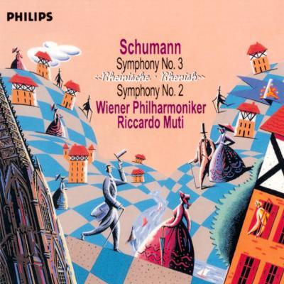 交響曲第2番、第3番『ライン』 ムーティ&ウィーン・フィル(SHM−CD)
