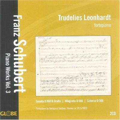 ピアノ作品集 第3巻 トゥルーデリーズ・レオンハルト(フォルテピアノ)(2CD)