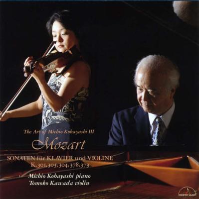 Violin Sonata, 25, 27, 28, 34, 35, : 川田知子(Vn)小林道夫(P)