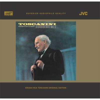 交響曲第7番、第1番 トスカニーニ&NBC交響楽団(XRCD24)